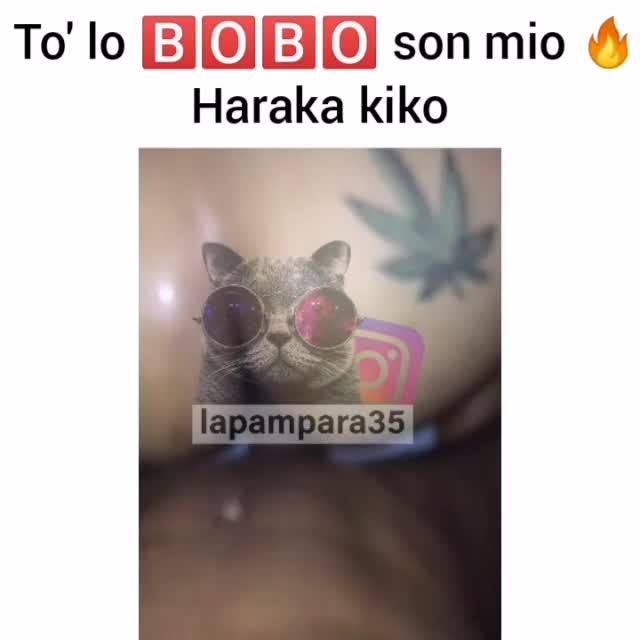 Se filtra video de haraka kiko dando etilla en 4K