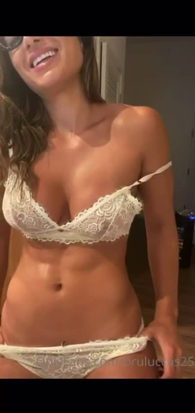 Bruluccas25 white lencery big tits part 2