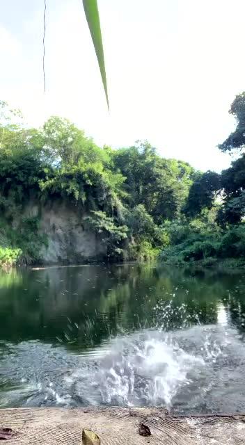 La perra de Tokischa encuera en Laguna Dudu
