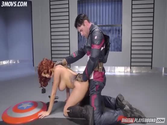 Captain América Ft Black Widow