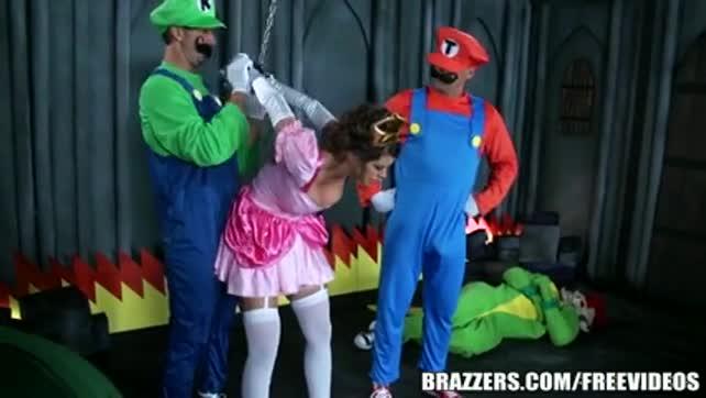 Mario and Luigi Gets Princes