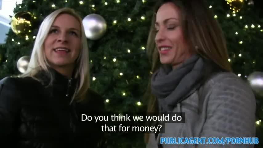 PublicAgent dos hermanas follan