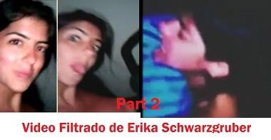 Parte 2 video viral de Erika Schwarzgruber Venezolana con ex novio