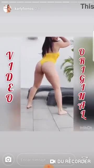 Karly Fornos nica muy caliente bailando