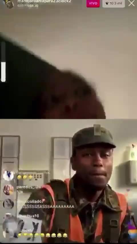 Mamijordan hace live con negro extranjero
