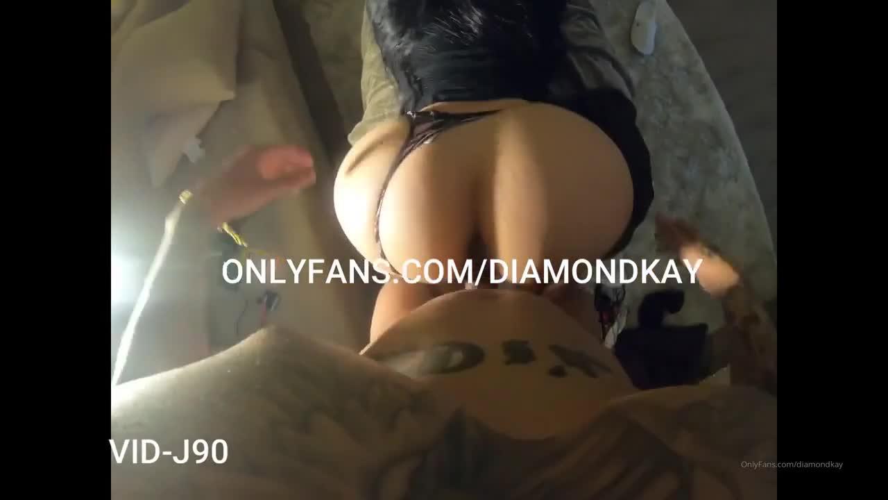 Diamond Kay rapando durisimo con un pana que vieno de NewYork